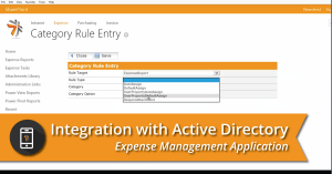 Expense Management Integration with Active Directory
