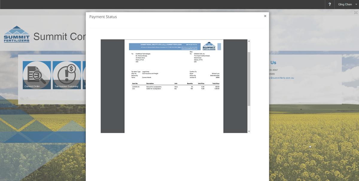 fertz-screen-invoice