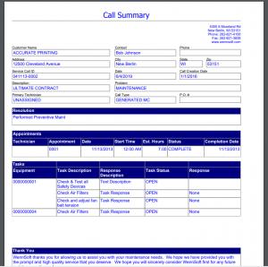 Key2Act Call Summary