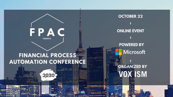 Financial Process Automation Virtual Conference (FPAC)